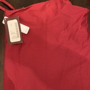 Adult Scrubs XL wine colored